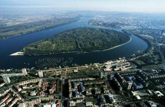 Rečna ostrva Beograda Veliko-ratno-ostrvo